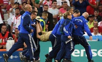 UEFA iškėlė drausminę bylą dėl rungtynių Lenkija – Portugalija