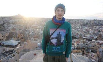 J. Kaminskas savanoriavo Turkijoje