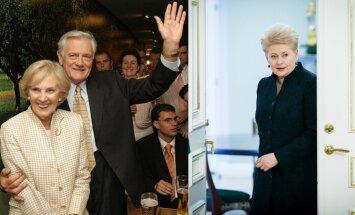 Alma ir Valdas Adamkai, Dalia Grybauskaitė
