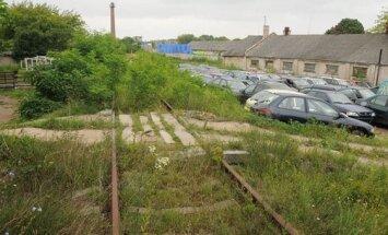 Geležinkelio atkarpa Klaipėdoje