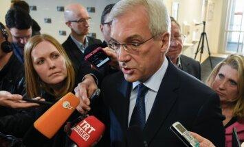 Alexander Grushko at NATO-Russia meeting