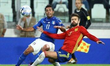 Italijos ir Ispanijos futbolo rinktinių mačas