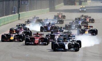 Formulės-1 lenktynės Baku