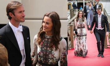 Pippa Middleton ir Jamesas Matthewsas