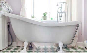 Kaip įrengti vonios kambarį, kad jame tikrai pavyktų atsipalaiduoti?