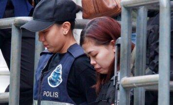 Kim Jong Namo nužudymu kaltinama Siti Aishah
