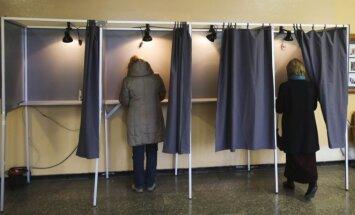 Vyksta antrasis rinkimų turas, balsavimas senamiesčio rinkimų apylinkėje