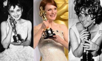 """Įspūdingiausi visų laikų """"Oskarų"""" apdovanojimų įvaizdžiai"""