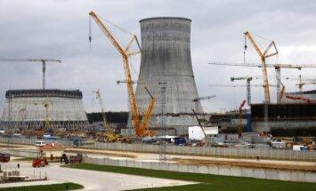 Astravyets nuclear power plant in Belarus