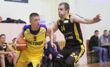 Kretingos ir Tauragės komandų rungtynių RKL čempionate.