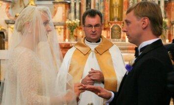 Ingos Norkutės ir Aurimo Žvinio vestuvės