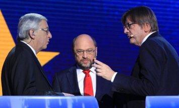 Debatai dėl EK pirmininko posto