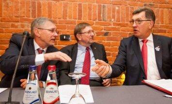 Gediminas Kirkilas, Juozas Bernatonis ir Algirdas Butkevičius