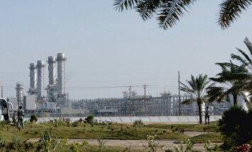 Oil fields in Saudi Arabia