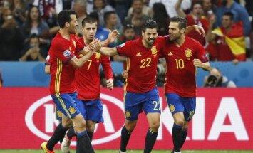 Ispanijos rinktinės futbolininkai