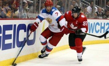 Dmitrijus Kulikovas ir Sidney Crosby