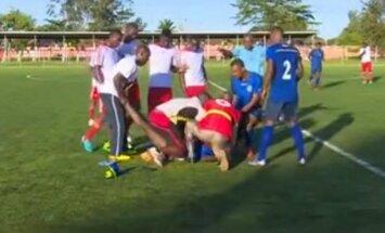 Tanzanijoje rungtynių metu mirė 19-metis žaidėjas