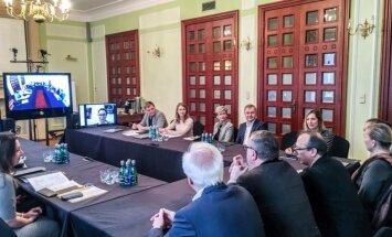 Varšuvoje vykusio tarptautinio baleto trupių bendradarbiavimo projekto akimirka (Naglio Stanciko nuotrauka)