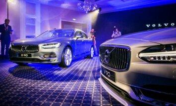 Volvo S90 ir Volvo V90 pristatymas