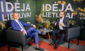 E. Jakilaitis su R. Zemkausku aiškinosi, kas keičia Kauną?