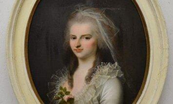 Praskovja Viazemskaja-Zubovienė (1772–1835). Nežinomas dailininkas (XVIII a.)