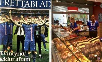 Islandija laukia dar vieno futbolo stebuklo