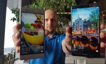 Huawei Mate 8 ir Huawei P9