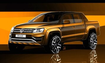 Volkswagen Amarok eskizai