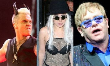 R. Williamsas, Lady Gaga, E. Johnas