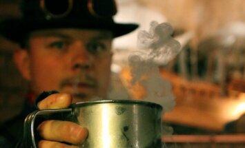 Steampunk'o interjeras
