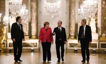 """ES didysis ketvertas palaiko """"skirtingų greičių"""" Europos idėją"""