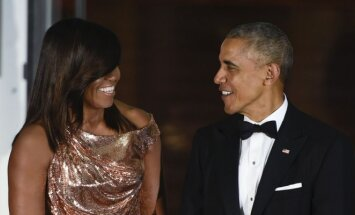Michelle ir Barackas Obamos