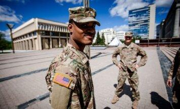 JAV kariai Vilniuje