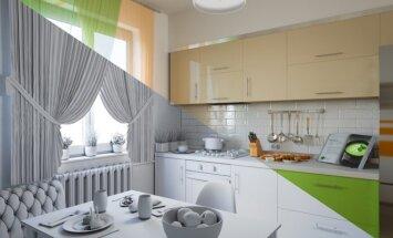 8 būdai, kaip stilingai ir funkcionaliai įsirengti mažą virtuvę