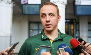 Lietuvos moterų krepšinio rinktinė grįžo į Vilnių