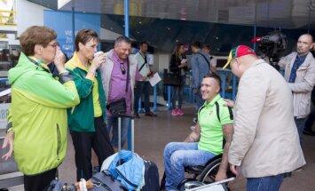 Lietuvos lengvaatlečiai išvyko į pasaulio neįgaliųjų čempionatą