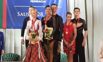 Lietuvos 10-ies šokių suaugusiųjų, jaunimo ir jaunių II grupės čempionai