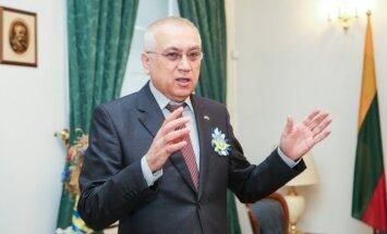 Ukraine's Ambassador to Lithuania Valeriy Zhovtenko