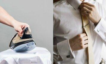 Kasdienė problema: kaip tinkamai išsilyginti marškinius?