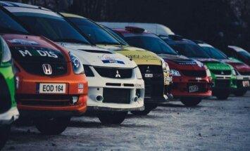 Ralyje startuos įvairūs automobiliai