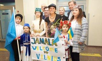 Jamalos pasitikimas Vilniuje