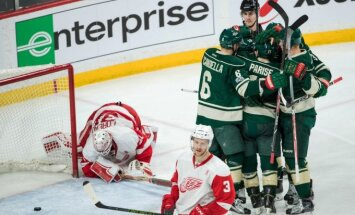 NHL: Wild -  Red Wings
