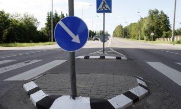 Pakeisti kelio ženklai Veiverių ir Technikumo gatvių sankryžoje