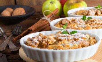 Obuolių ir moliūgo pyragas