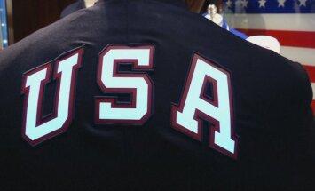 JAV olimpiečių apranga