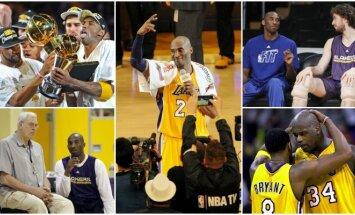 Kobe Bryantas baigė 20 metų trukusią NBA karjerą (AFP, AP ir Reuters nuotr.)