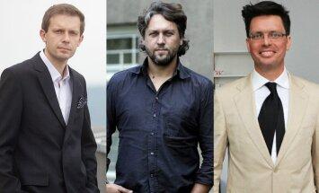 Andrius Tapinas, Rimas Bružas, Laimas Fergizas