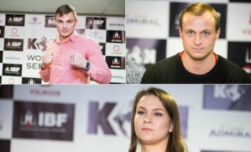 Sergejus Maslobojevas, Julius Mocka ir Julija Stoliarenko