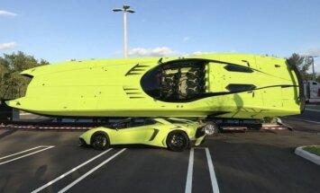 Parduodami Lamborghini Aventador Superveloce ir lambokateris