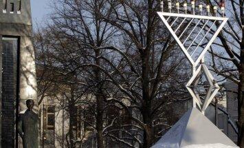 Menorah on Kudirkos Square